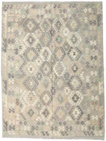 Kilim Afgan Old Style Dywan 179X239 Orientalny Tkany Ręcznie Jasnoszary/Ciemnobeżowy (Wełna, Afganistan)