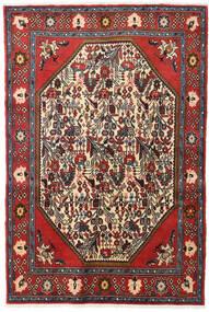 Koliai Tappeto 128X190 Orientale Fatto A Mano Rosso Scuro/Marrone Scuro (Lana, Persia/Iran)