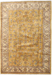 Ziegler Rug 185X259 Authentic  Oriental Handknotted Light Brown/Dark Beige (Wool, Afghanistan)