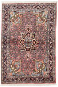 Ardebil Tappeto 105X158 Orientale Fatto A Mano Rosso Scuro/Marrone Scuro (Lana, Persia/Iran)