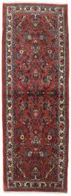 사로크 러그 82X237 정품  오리엔탈 수제 복도용 러너  다크 레드/다크 그레이 (울, 페르시아/이란)