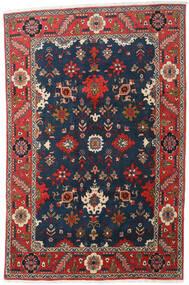 Heriz Matta 197X300 Äkta Orientalisk Handknuten Mörkblå/Mörkgrå (Ull, Persien/Iran)