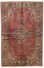 Hamadan Dywan 126X195 Orientalny Tkany Ręcznie (Wełna, Persja/Iran)