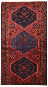 Hamadan Teppich  117X210 Echter Orientalischer Handgeknüpfter Dunkelrot/Dunkelbraun (Wolle, Persien/Iran)