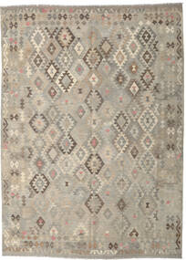 Kilim Afghan Old Style Rug 237X330 Authentic  Oriental Handwoven Light Grey (Wool, Afghanistan)