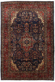 Mahal Rug 208X308 Authentic  Oriental Handknotted Dark Red/Dark Brown (Wool, Persia/Iran)
