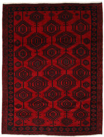 Lori Rug 205X265 Authentic  Oriental Handknotted Dark Red (Wool, Persia/Iran)