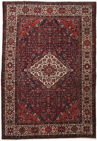 Hosseinabad Dywan 211X304 Orientalny Tkany Ręcznie Ciemnoczerwony/Ciemnobrązowy (Wełna, Persja/Iran)