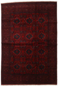 Afghan Khal Mohammadi Tappeto 201X292 Orientale Fatto A Mano Marrone Scuro/Rosso Scuro (Lana, Afghanistan)