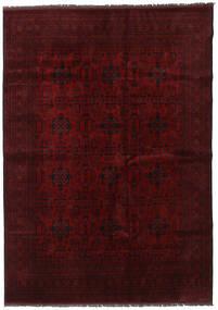Afgan Khal Mohammadi Dywan 202X286 Orientalny Tkany Ręcznie Ciemnobrązowy/Ciemnoczerwony (Wełna, Afganistan)