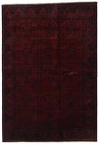 Afghan Khal Mohammadi Tæppe 200X289 Ægte Orientalsk Håndknyttet Mørkerød (Uld, Afghanistan)