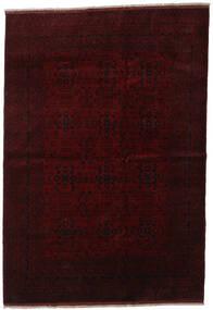Afghan Khal Mohammadi Covor 203X294 Orientale Lucrat Manual Maro Închis/Roșu-Închis (Lână, Afganistan)