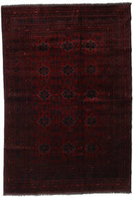 Afghan Khal Mohammadi Rug 194X285 Authentic  Oriental Handknotted Dark Brown/Dark Red (Wool, Afghanistan)