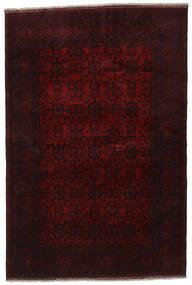 アフガン Khal Mohammadi 絨毯 198X294 オリエンタル 手織り 深紅色の (ウール, アフガニスタン)