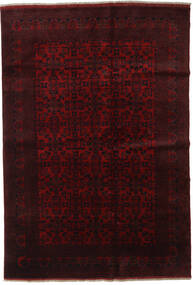 Afghan Khal Mohammadi Tapis 198X289 D'orient Fait Main Rouge Foncé (Laine, Afghanistan)