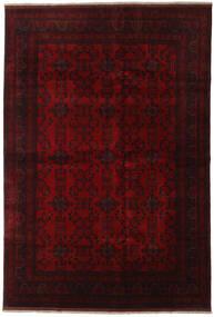 アフガン Khal Mohammadi 絨毯 198X290 オリエンタル 手織り 濃い茶色/赤 (ウール, アフガニスタン)