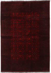 Afghan Khal Mohammadi Tapis 205X291 D'orient Fait Main Marron Foncé/Rouge Foncé (Laine, Afghanistan)
