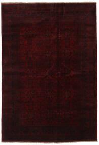 Afghan Khal Mohammadi Rug 203X296 Authentic  Oriental Handknotted Dark Brown/Dark Red (Wool, Afghanistan)