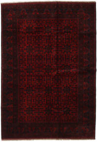 Afghan Khal Mohammadi Rug 202X288 Authentic  Oriental Handknotted Dark Brown/Dark Red (Wool, Afghanistan)