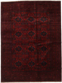 Afghan Khal Mohammadi Rug 210X282 Authentic  Oriental Handknotted Dark Brown/Dark Red (Wool, Afghanistan)