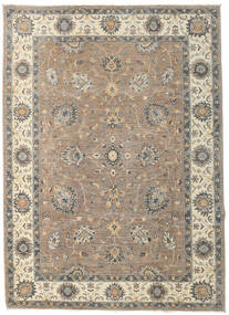 Ziegler Ariana Rug 205X283 Authentic  Oriental Handknotted Light Grey/Beige (Wool, Afghanistan)