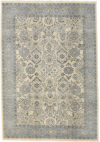 Ziegler Ariana Rug 208X300 Authentic  Oriental Handknotted Light Grey/Beige (Wool, Afghanistan)