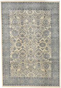 Ziegler Ariana Rug 203X296 Authentic  Oriental Handknotted Light Grey/Dark Grey (Wool, Afghanistan)
