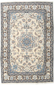 Nain Rug 192X295 Authentic  Oriental Handknotted Beige/Light Grey (Wool, Persia/Iran)