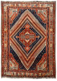 Ghashghai Matto 172X242 Itämainen Käsinsolmittu Tummanpunainen/Tummansininen (Villa, Persia/Iran)