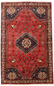 Qashqai Szőnyeg 156X253 Keleti Csomózású Sötétpiros/Rozsdaszín (Gyapjú, Perzsia/Irán)