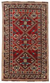 Ghashghai Matto 153X261 Itämainen Käsinsolmittu Tummanpunainen/Tummanruskea (Villa, Persia/Iran)
