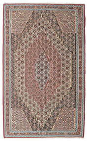 Kilim Senneh Rug 148X237 Authentic  Oriental Handwoven Light Grey/Light Brown (Wool, Persia/Iran)