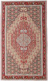 Kilim Senneh Rug 150X259 Authentic  Oriental Handwoven Light Grey/Beige (Wool, Persia/Iran)