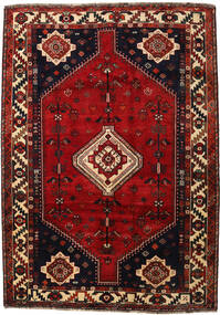 Qashqai Rug 177X251 Authentic  Oriental Handknotted Dark Red/Dark Brown/Rust Red (Wool, Persia/Iran)
