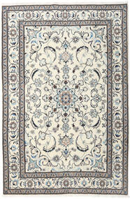 Nain Rug 195X293 Authentic  Oriental Handknotted Beige/Light Grey (Wool, Persia/Iran)