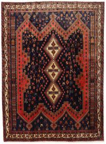 Afshar Rug 183X245 Authentic  Oriental Handknotted Black/Dark Red (Wool, Persia/Iran)