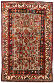Qashqai Rug 160X246 Authentic  Oriental Handknotted Dark Red/Light Brown (Wool, Persia/Iran)