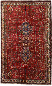 Qashqai Rug 170X273 Authentic  Oriental Handknotted Dark Red/Dark Brown (Wool, Persia/Iran)