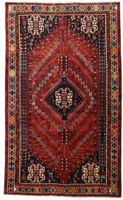 Kaszkaj Dywan 160X266 Orientalny Tkany Ręcznie Ciemnoczerwony (Wełna, Persja/Iran)