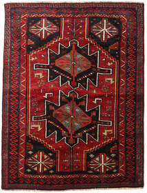 Lori Rug 168X224 Authentic  Oriental Handknotted Dark Red/Dark Brown (Wool, Persia/Iran)