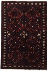 Lori Rug 173X255 Authentic  Oriental Handknotted Dark Brown/Dark Red (Wool, Persia/Iran)