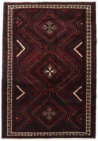 Lori Rug 167X246 Authentic  Oriental Handknotted Dark Brown/Dark Red (Wool, Persia/Iran)