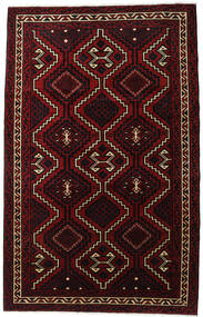 Lori Rug 179X281 Authentic  Oriental Handknotted Dark Red (Wool, Persia/Iran)