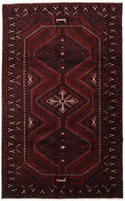 Lori Rug 168X271 Authentic  Oriental Handknotted Dark Brown/Dark Red (Wool, Persia/Iran)