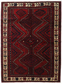 Lori Rug 172X233 Authentic  Oriental Handknotted Dark Red (Wool, Persia/Iran)