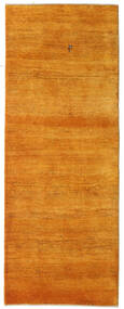 Gabbeh Persia Rug 78X204 Authentic  Modern Handknotted Hallway Runner  Orange/Light Brown (Wool, Persia/Iran)