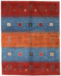 Gabbeh Persisk Matta 159X204 Äkta Modern Handknuten Roströd/Blå (Ull, Persien/Iran)