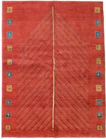 Gabbeh Persisk Matta 152X204 Äkta Modern Handknuten Roströd/Röd (Ull, Persien/Iran)