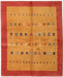 Gabbeh Persia Tappeto 160X193 Moderno Fatto A Mano Arancione/Ruggine/Rosso (Lana, Persia/Iran)