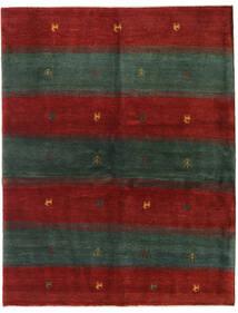 Gabbeh Persisk Matta 152X195 Äkta Modern Handknuten Mörkgrön/Röd (Ull, Persien/Iran)